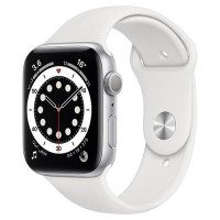 Apple Watch 6 44mm sport band White